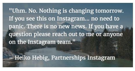 Citat från Heiko Hebig med en bakgrund från ett naturreservat